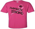 HAWKEYE STRONG - HOT PINK T-SHIRT