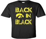 BACK IN BLACK - BLACK T-SHIRT - YOUTH