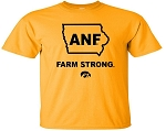 ANF IN STATE OF IOWA - GOLD T-SHIRT