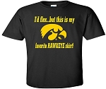 I'D FLEX..BUT THIS IS MY FAV HAWKEYE T-SHIRT - BLACK