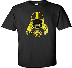 HELMET HAIR TIGERHAWK - BLACK  T-SHIRT