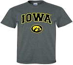 IOWA DARK GRAY T-SHIRT