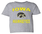 IOWA HAWKEYES - LIGHT GREY T-SHIRT - INFANT-TODDLER