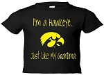 I'M A HAWKEYE LIKE MY GRANDMA BLACK