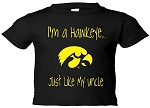 I'M A HAWKEYE LIKE MY UNCLE BLACK