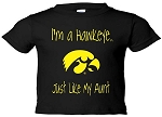 I'M A HAWKEYE LIKE MY AUNT BLACK