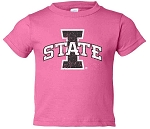 I STATE HOT PINK T-SHIRT