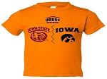 HOUSE DIVIDED IOWA/ISU GOLD T-SHIRT