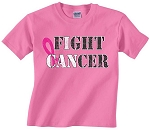 FIGHT CANCER - PINK T-SHIRT