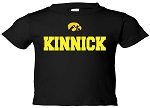 KINNICK  - BLACK T-SHIRT - INFANT-TODDLER
