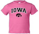 IOWA HOT PINK T-SHIRT - INFANT/TODDLER