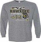 2019 Outback Bowl Iowa Hawkeyes - Gray Long Sleeve