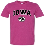 IOWA T-SHIRT - ANTIQUE HELICONIA - SOFT STYLE