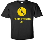 Circle ANF - Farm Strong - BLACK T-SHIRT