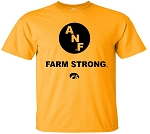 Circle ANF - Farm Strong - Gold T-SHIRT