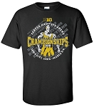 Big Ten 2016 Wrestling Championships - BLACK T-SHIRT