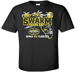 OUTBACK BOWL 2017 - SWARM TAMPA BAY - BLACK T-SHIRT