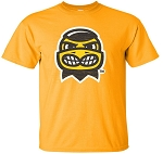 HERKY HEAD - GOLD T-SHIRT