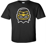 HERKY HEAD - BLACK  T-SHIRT