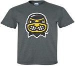 HERKY HEAD - DARK GREY T-SHIRT