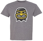 HERKY HEAD - MEDIUM GREY T-SHIRT - YOUTH