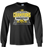 B1G WEST DIV CHAMPS - IOWA FOOTBALL - LONG SLEEVE