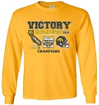 Victory 2019 Holiday Bowl Iowa Hawkeyes - Gold Long Sleeve