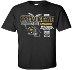 2019 Holiday Bowl  Iowa Hawkeyes - Black T-shirt
