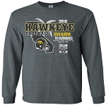 2019 Holiday Bowl Iowa Hawkeyes - Dark Grey Long Sleeve