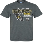 2019 Holiday Bowl Iowa Hawkeyes - Dark Grey T-shirt