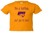 I'M A PANTHER LIKE MY AUNT T-SHIRT - GOLD