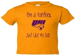 I'M A PANTHER LIKE MY DAD T-SHIRT - GOLD