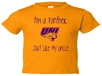 I'M A PANTHER LIKE MY UNCLE T-SHIRT - GOLD