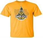 Book it to Iowa City RAGBRAI - Gold