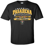 ROSE BOWL 2016 - SWARM PASADENA - BLACK T-SHIRT