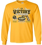 Victory in Paradise 2019 Outback Bowl Champs - Gold Long Sleeve