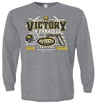 Victory in Paradise 2019 Outback Bowl Champs - Mid Gray Long Sleeve
