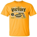 Victory in Paradise 2019 Outback Bowl Champs - Gold t-shirt