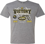 Victory in Paradise 2019 Outback Bowl Champs - Mid Gray t-shirt