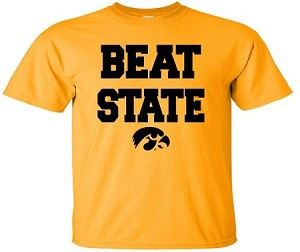 BEAT STATE - GOLD T-SHIRT