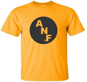 BIG ANF LOGO - GOLD T-SHIRT
